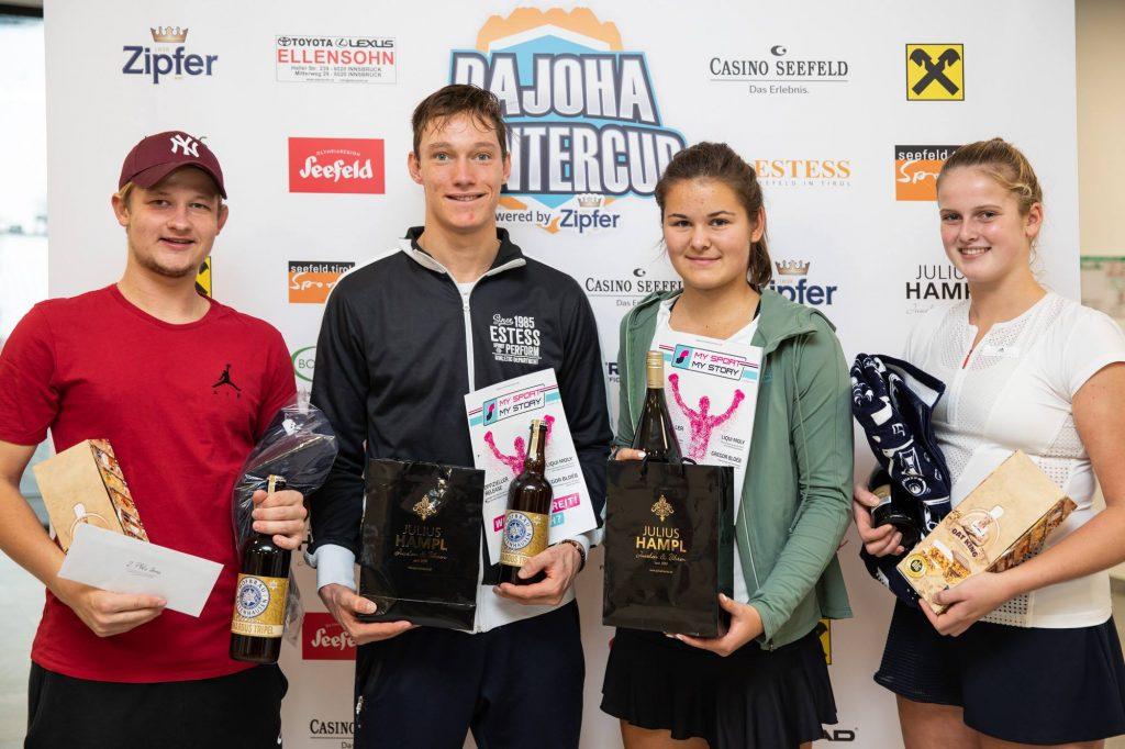 Sieger und Finalisten 3. Turnier