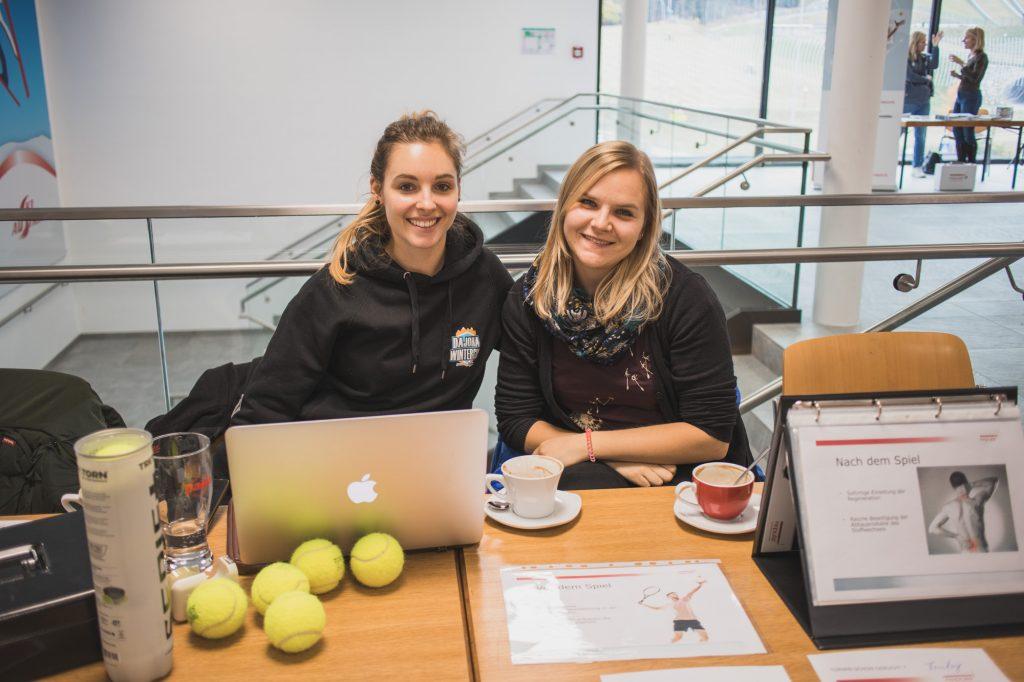 Katharina Magerle und Sarah Johansson
